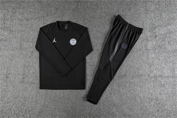 bf50b9037ff ... 19 PSG Jordan black training suit. Hover to zoom | Click to enlarge